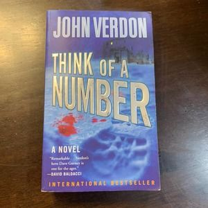 Think of a Number - A Novel by John Verdon